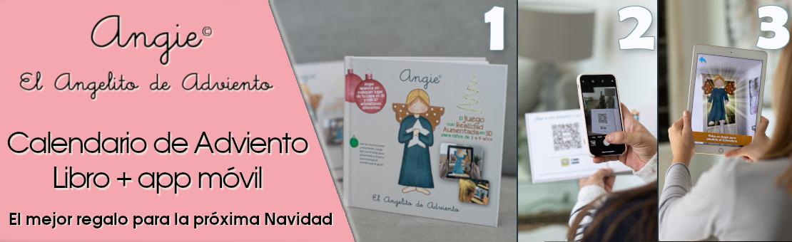 Angie, angelito de Adviento